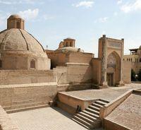 Медресе Саид Алимхана находящегося в части «Старого города» в близи комплекса «Пойи Калон» г. Бухары